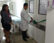 Inauguração da nova sala do Bloco Cirúrgico do Hospital Ana Nery