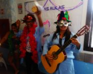 Hospital Ana Nery realiza ações de carnaval para pacientes