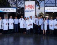 Equipe médica do Hospital Ana Nery comemora redução do tempo da fila de espera para cirurgia cardíaca