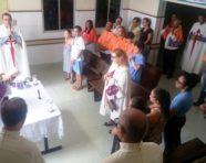 Missa de páscoa é celebrada no Hospital Ana Nery
