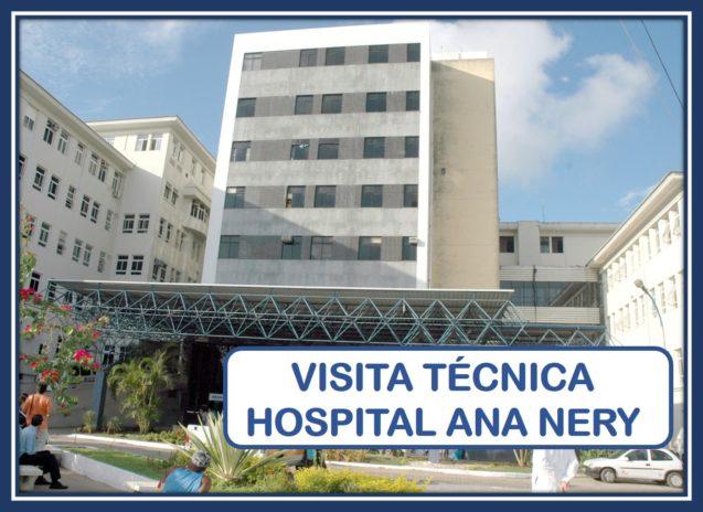 Formulário on-line de visita técnica ao Hospital Ana Nery