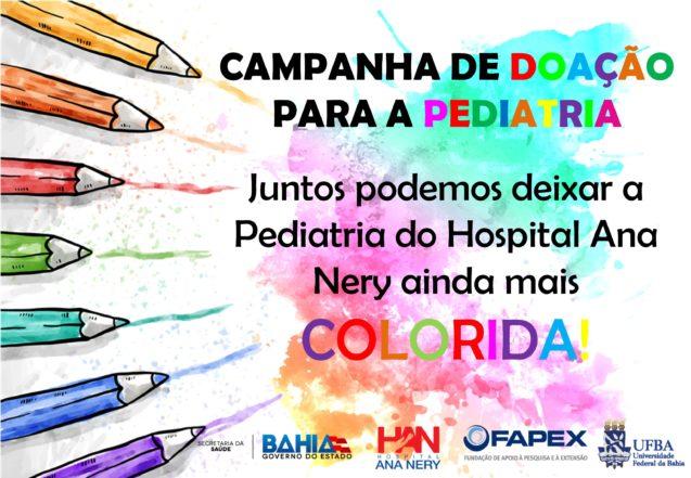 Serviço de Psicologia do Hospital Ana Nery realiza campanha para pediatria